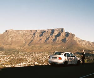 south africa, cape town, and table mountain image