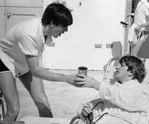 Paul McCartney, the beatles, and ringo starr image