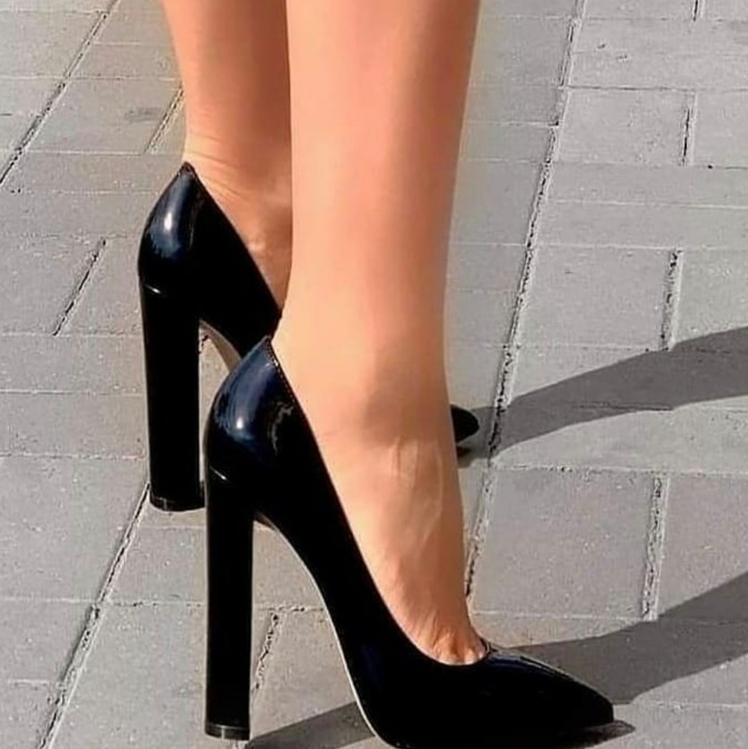 black heels, black shoes, and doll image