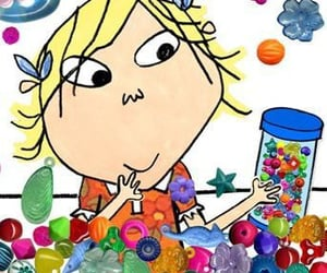 cartoon, childhood, and colours image