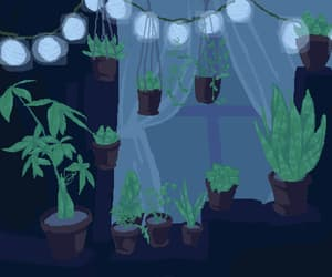8-bit, plant, and gif image
