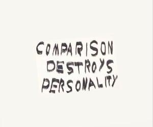 comparison, unique, and personality image