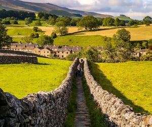 village, england, and yorkshire image