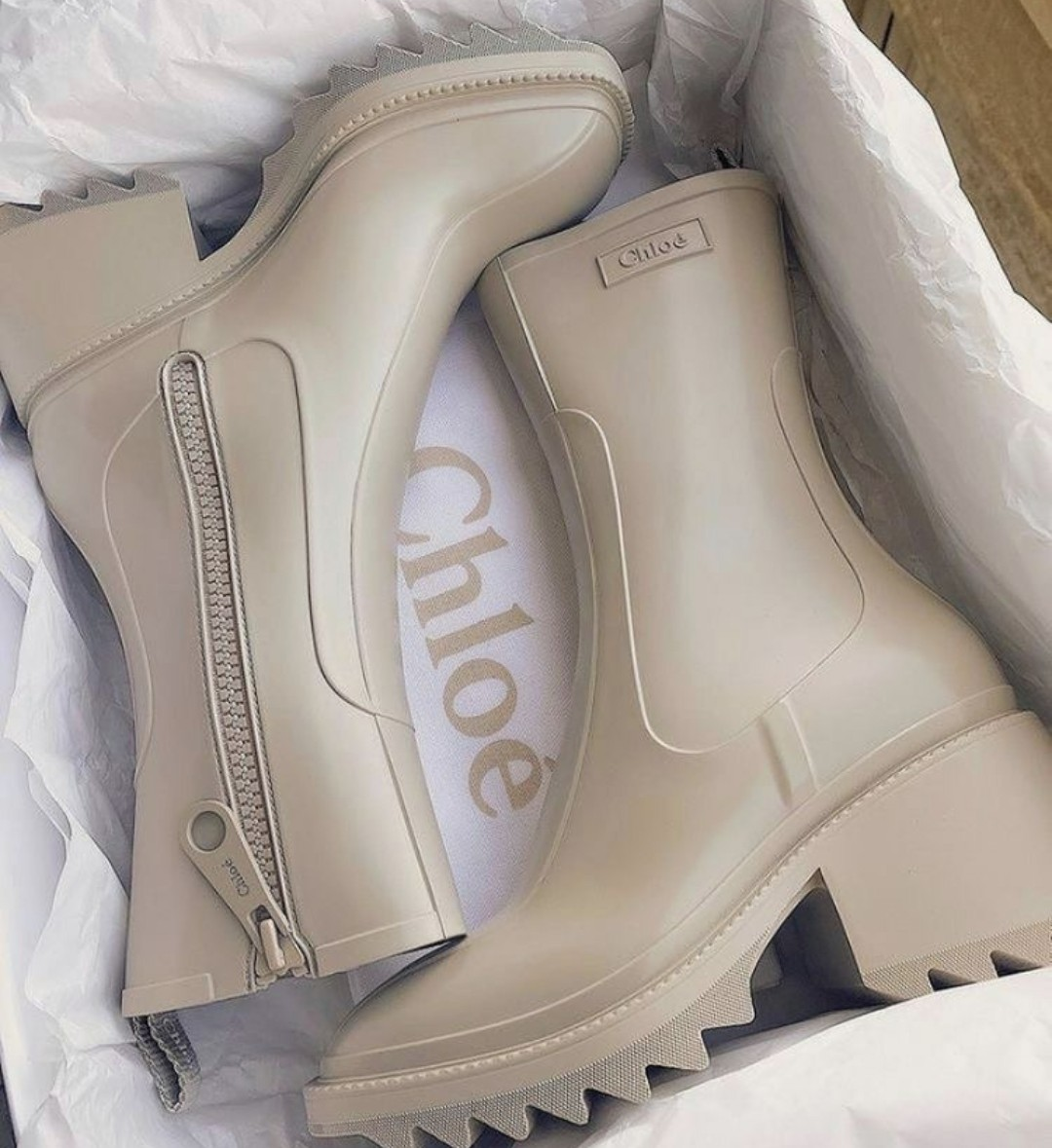 boots, chloe, and beige image