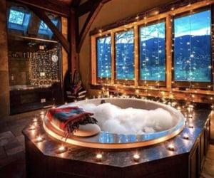 bath, bubbles, and rest image