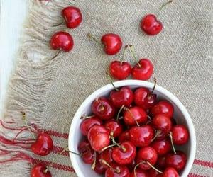 cherries, cherry, and fruit image