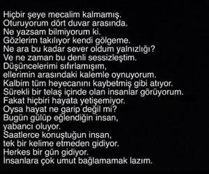 alone, alıntı, and türkçe sözler image