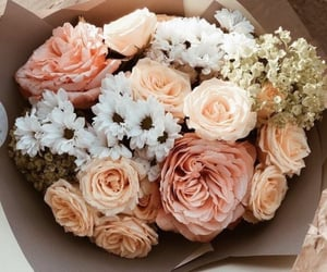 pastel colors, fashion, and flowers image