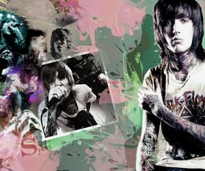 bmth, metal, and myspace image