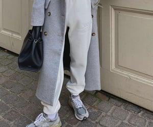 coat, fashion, and new balance image