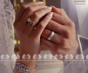 couple, hands, and wedding image