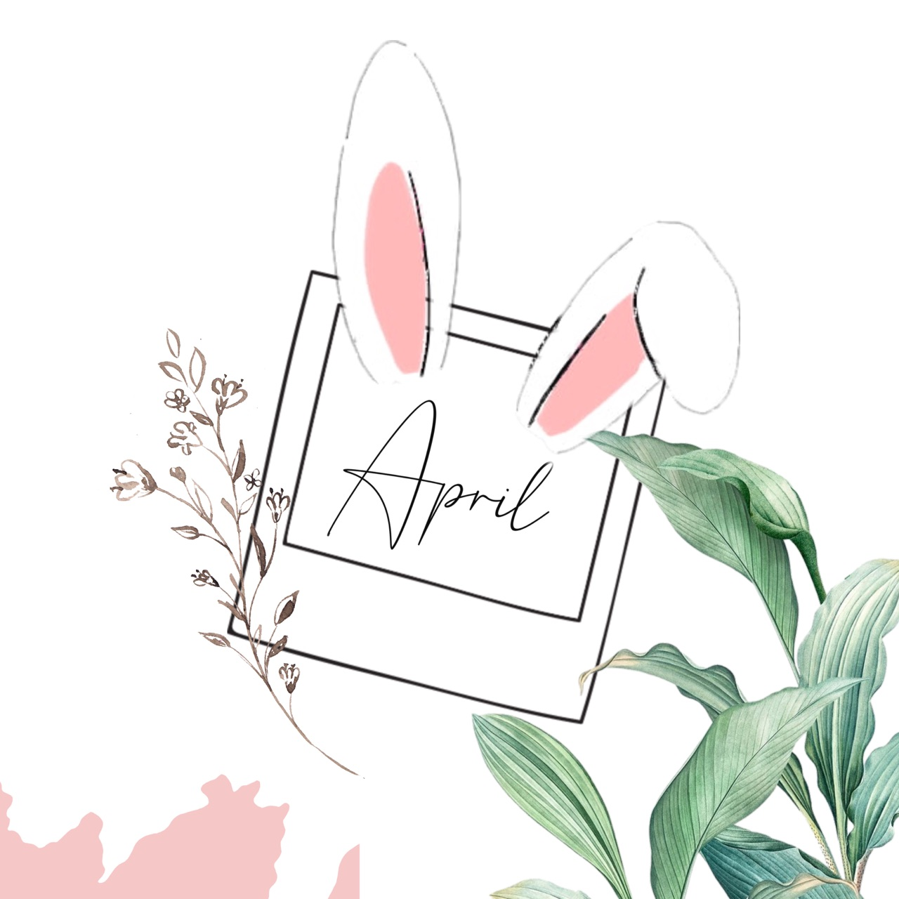 april, hello, and inspiration image