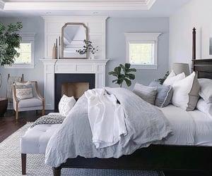interior, bedding, and cozy image