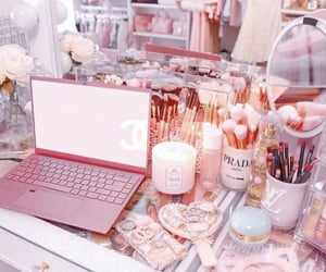 accessories, pink, and glam image