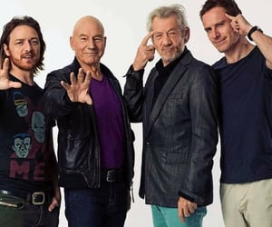 james mcavoy, magneto, and Marvel image