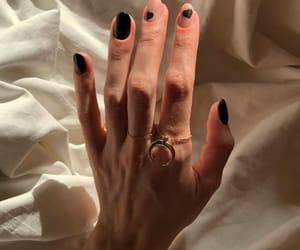 bride, hand, and mani image