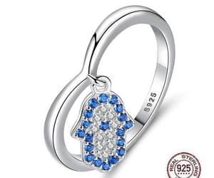 hamsa ring, hamsa jewelry, and hamsá image