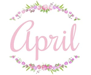 april, sayings, and springtime image
