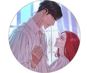 anime, manga, and couple icon image