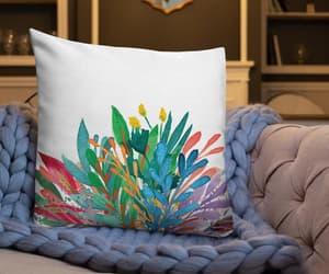 premium pillow, bed pillow, and home living image