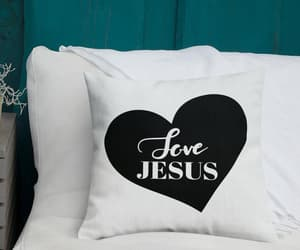 faith, heart, and love jesus image