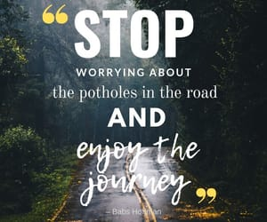 inspirational, quote, and road image