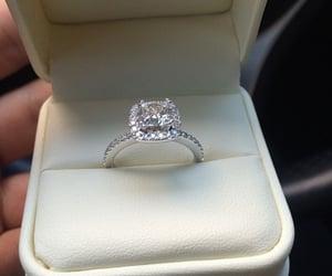 ring, luxury, and wedding image