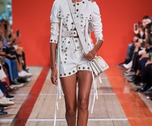 fashion show, haute couture, and runway image