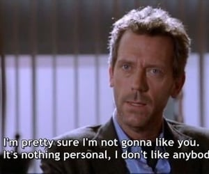 attitude, gregory house, and tv show image