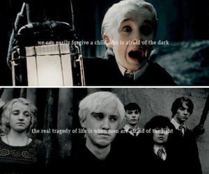 dark, malfoy, and harry potter image