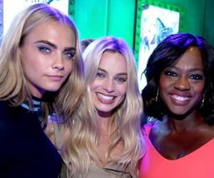 suicide squad, harley quinn, and cara delevingne image