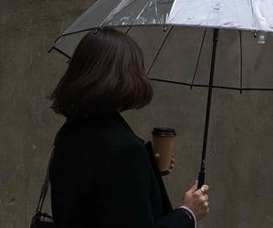 aesthetic, coffee, and dark image