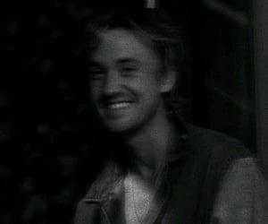 draco malfoy, tom felton, and his smile tho image