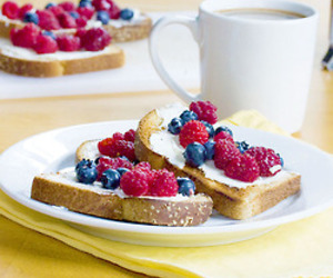 berries, healthy, and breakfast image