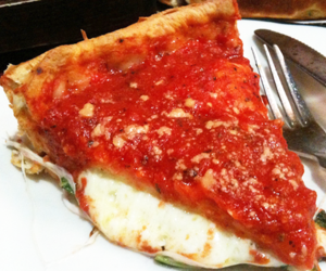 basil, cheese, and chicago image