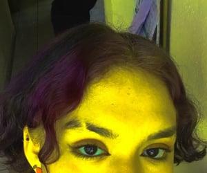 ojos, alien, and amarilla image
