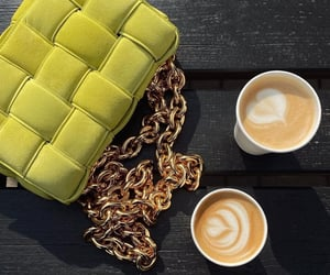 bottega veneta and coffee image