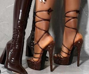 pretty, boots, and diamonds image