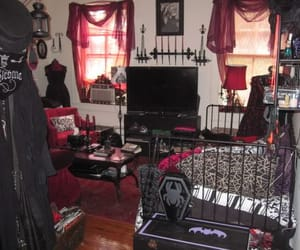 goth and room image