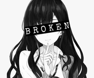 anime sad anime girl image