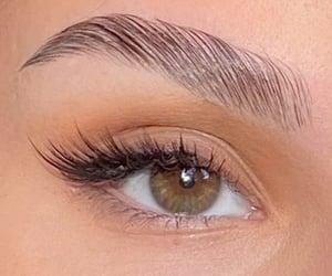 brow, eye, and green image