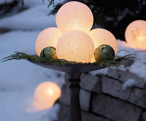 christmas, decoration, and outdoor image