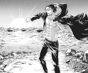 manga, shingeki no kyojin, and attack on titan image