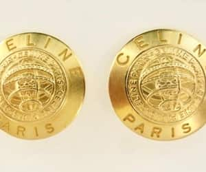 etsy, vintage earrings, and celine clip earrings image