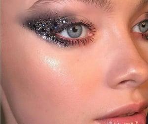 blue eyes, eyes, and eyebrows image