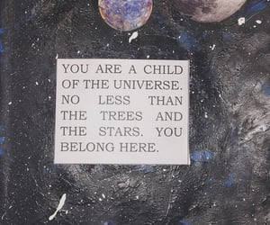 quotes, universe, and planets image