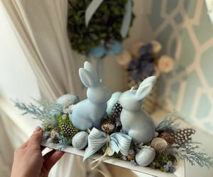 blue, bunny, and ester image