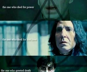 harry potter, voldemort, and severus snape image