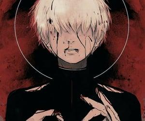 human, haise sasaki, and anime image
