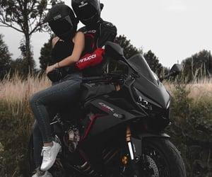 aesthetic, dark, and moto image
